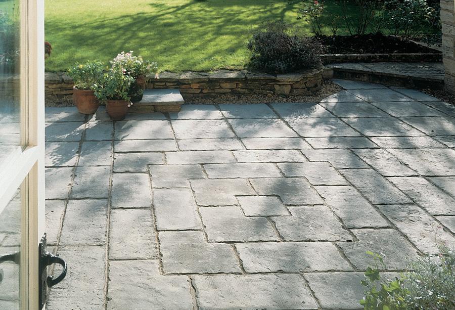 Pavimentos manoir fabistone pavimentos para jardins - Suelos rusticos exterior ...