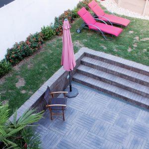 Teca Sol pavement