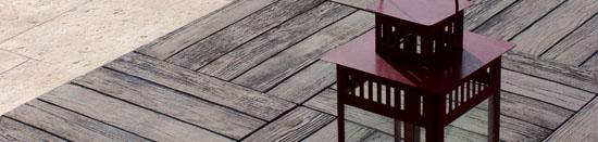 pavimentos exteriores - interiores Teca Sol