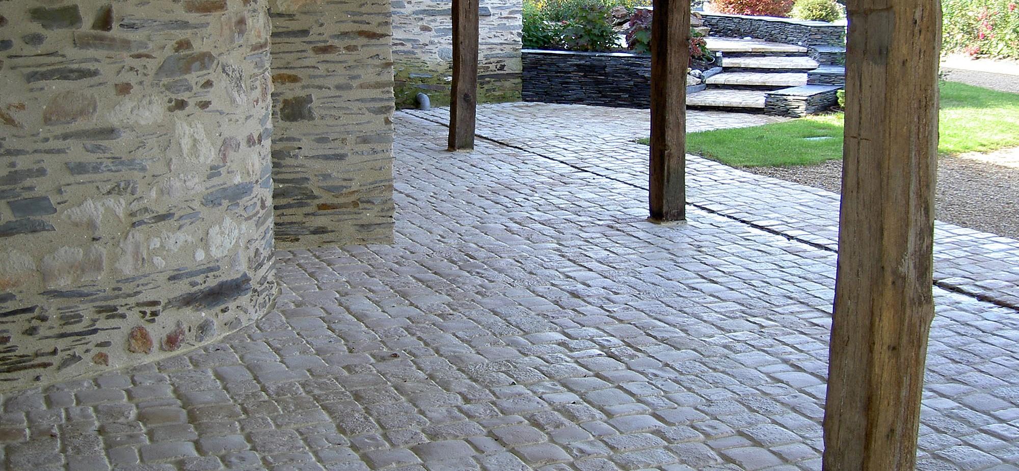 Pavimentos / calçadas Fabistone da gama Bastide