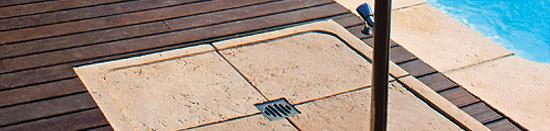 pavimentos para jardim - base de chuveiro - Fabistone