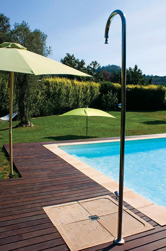 Base de chuveiro fabistone pavimentos exteriores antiderrapantes - Duchas exteriores para piscinas ...