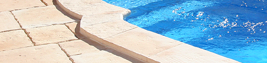 bordadura para piscina Manoir - Fabistone