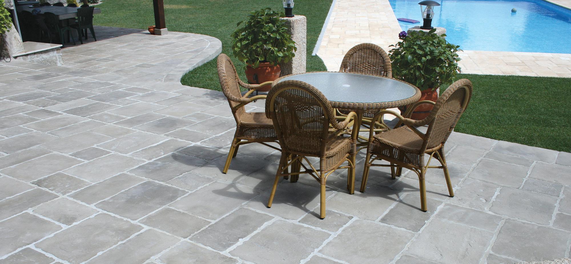 Pavimentos e revestimentos fabistone pedra reconstitu da - Pavimento exterior barato ...