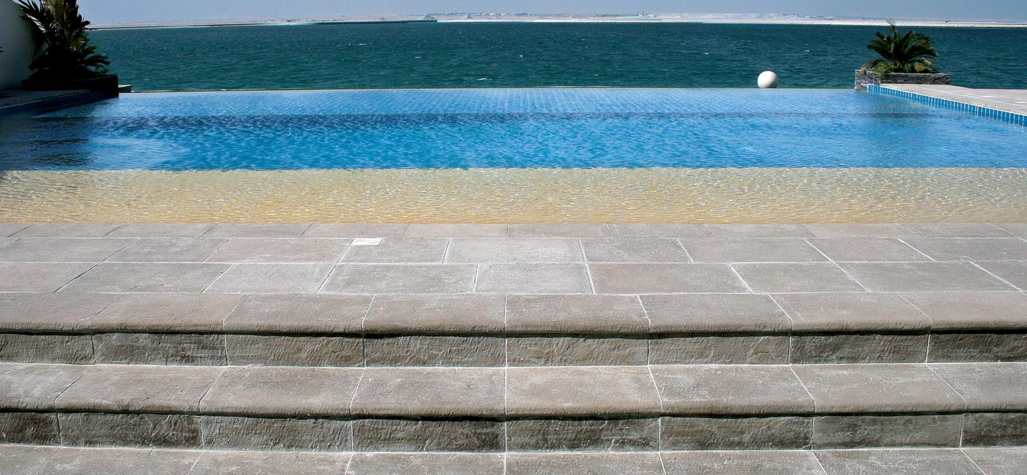 Pavimentos e revestimentos fabistone pedra reconstitu da - Pavimentos para piscinas exteriores ...