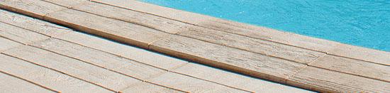 bordaduras para piscinas Teca Sol - Fabistone