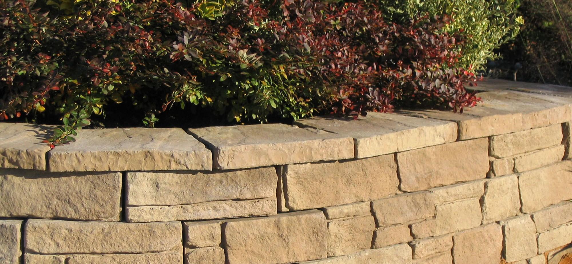 Muros Fabistone da gama Mountainblock