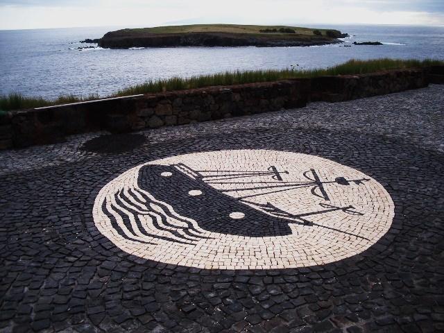 Calçada típica dos Açores e Madeira